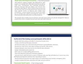 Nro 11 kilpailuun Designing two creative looking flyers for training programs käyttäjältä smileless33