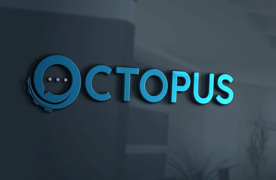 Entry #608 by Sergio4D for Octopus Logo for New Mobile App | Freelancer