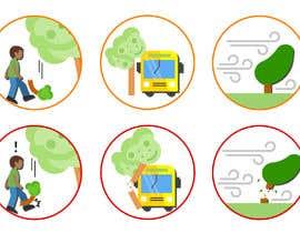#4 para 6 custom vector graphic icons por rivasfjl