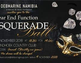 #60 para Formal masquerade event invite por LettersDi
