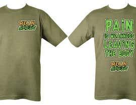 Nro 10 kilpailuun Mean Green Logo and catchphrase for team shirts käyttäjältä santiagoskuvy8