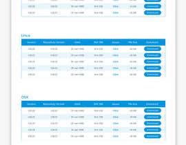 Nro 17 kilpailuun Design a File Download page (Template) that matches our theme käyttäjältä anantomamun90