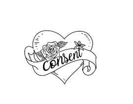 #14 for Simple graphic design - old school heart/rose with ribbon and lettering by berragzakariae