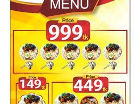 #18 for X-Banner Needed for Restaurant af ajmal32150