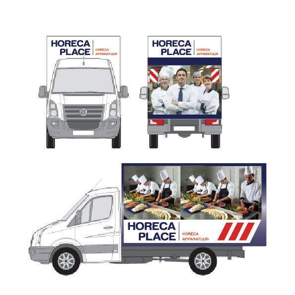 Penyertaan Peraduan #44 untuk I am looking for a nice design for our company van