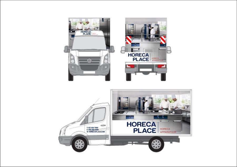 Penyertaan Peraduan #18 untuk I am looking for a nice design for our company van
