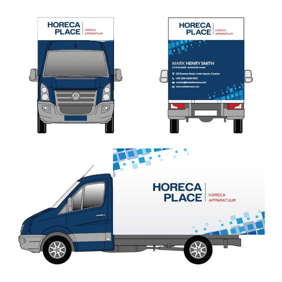 Penyertaan Peraduan #38 untuk I am looking for a nice design for our company van