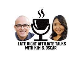 """#7 for Logo for """"Late Night Affiliate Talks with Kim & Oscar"""" Podcast by Hezeper"""