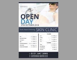 #93 untuk Skin Clinic Open Day Poster and Banner oleh yunitasarike1