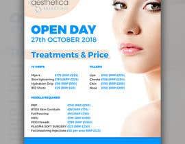 #99 untuk Skin Clinic Open Day Poster and Banner oleh DiponkarDas