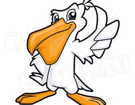 #97 for Pelican Cartoon Character in Illustrative vector style. by DzianisDavydau