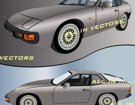 #24 for Create a vectorised 2D image of project car. by letindorko2