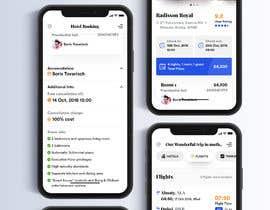 Nro 20 kilpailuun Design travel agency app käyttäjältä UIXGhost