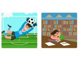 nº 10 pour 2 cartoon illustrations par TEHNORIENT