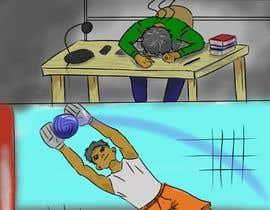 nº 7 pour 2 cartoon illustrations par yoov