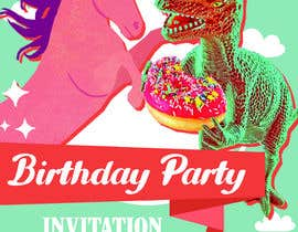 #5 para Photoshop job for birthday invitation de Reffas