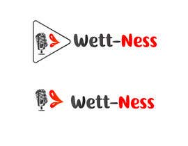 #22 para I need a logo for a podcast. The name is Wett-Ness Podcast. Ness because both podcast members are named VaNESSa. We would like something sexy and girly.  -- 10/07/2018 15:13:09 de moucak