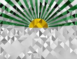 #11 for Design a Tangram of a sunset with bursts af opillusionist