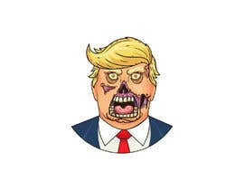 #14 cho Caricature style vector of President Trump looking like a zombie bởi sudhalottos