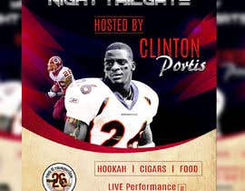 #50 cho Monday Night Tailgate Hosted By Clinton Portis bởi darbarg