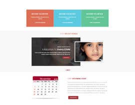 #9 untuk Website for Non Profit Layout oleh ravindrababbar9