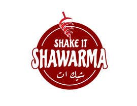 #81 pentru Logo for shawarma restaurant de către carolingaber