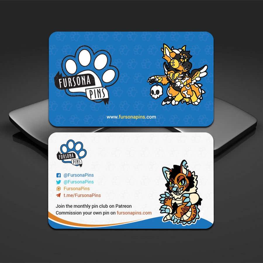 Bài tham dự cuộc thi #217 cho Design a business card for enamel pins