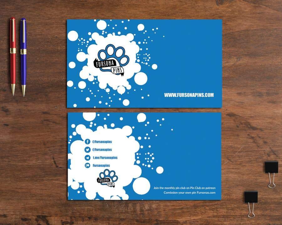 Bài tham dự cuộc thi #207 cho Design a business card for enamel pins