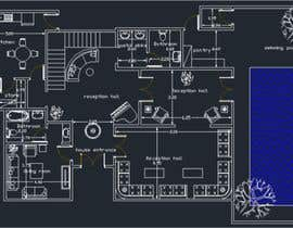 #11 per make interior furniture layout for residential villa by autocad da mohamedmh94
