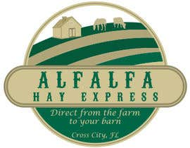 #24 untuk Logo Design for hay delivery business oleh wasiulhuq