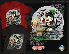 #38 for Design a Halloween t-shirt (for tankers) by GribertJvargas