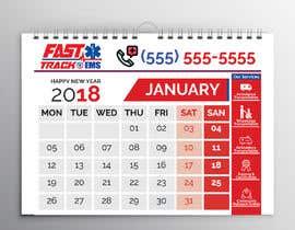 #54 para Design Desk Calendar Header por smshovon19