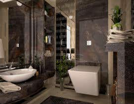 #11 for Powder room/ small washroom interior design by nedaaelislam44