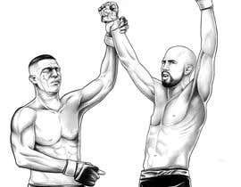 #19 untuk Illustrate 2 MMA Fighter oleh Rotzilla