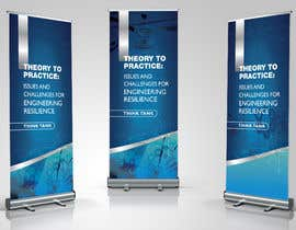 #16 for Design Banner: Three 33x78 Retractable Roll Up Banner Stands and One 33x34 Table Top Banner by nadiapolivoda