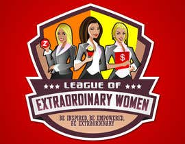 #82 pentru Logo Design for League of Extraordinary Women de către taks0not