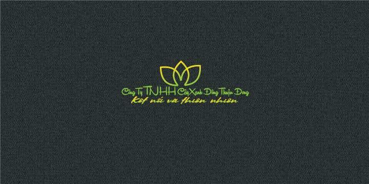 Proposition n°10 du concours Design logo for  Công ty TNHH Cây Xanh Đông Thuận Đông