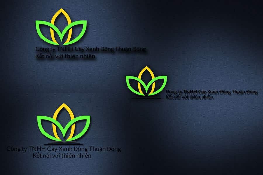 Proposition n°4 du concours Design logo for  Công ty TNHH Cây Xanh Đông Thuận Đông