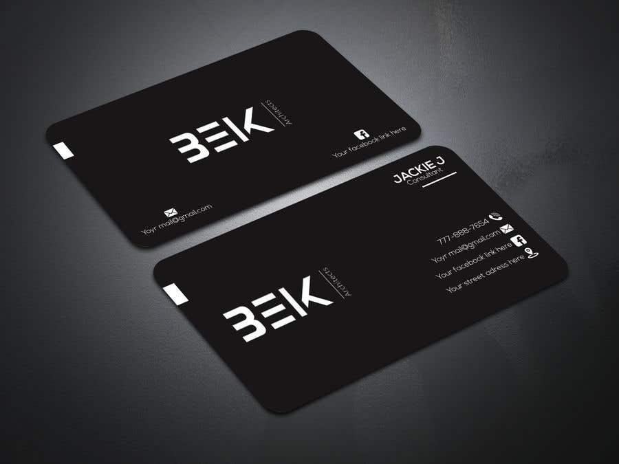 Entry #734 by konikaroy846 for Business Card | Freelancer