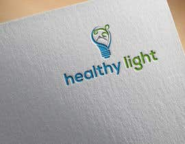 "Nro 25 kilpailuun I just need a simple logo design for stationary branding and Social Media, and the name of the logo is ""healthy light"" käyttäjältä imshohagmia"