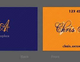 #161 untuk Logo Design for Chris/Chris Antos/Christopher oleh nikster08