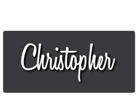 nº 72 pour Logo Design for Chris/Chris Antos/Christopher par kivikivi