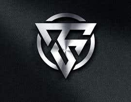 #621 untuk Simple V letter logo monogram/penrose triangle oleh erwinubaldo87