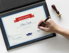 #48 for Please make this certificate more professional and editable af Bakr4