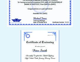 #51 for Please make this certificate more professional and editable by Heartbd5