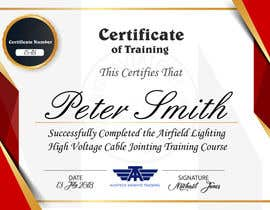 #27 for Please make this certificate more professional and editable af TOPlevelDesigner