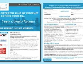 Nro 207 kilpailuun Design a Flyer (front and back page) käyttäjältä shsanto