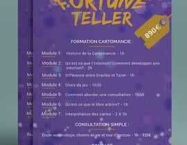 nº 7 pour Make a flyer (fortune telling) par lutfurrahman998