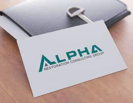 #89 untuk Compmay name  ALPHA Restoration Consulting Group  Need complete set of logos ready gor web, print, or clothing. This will also end up on vehicles also.   Tactial is style to show our covert nature. oleh DesignDesk143