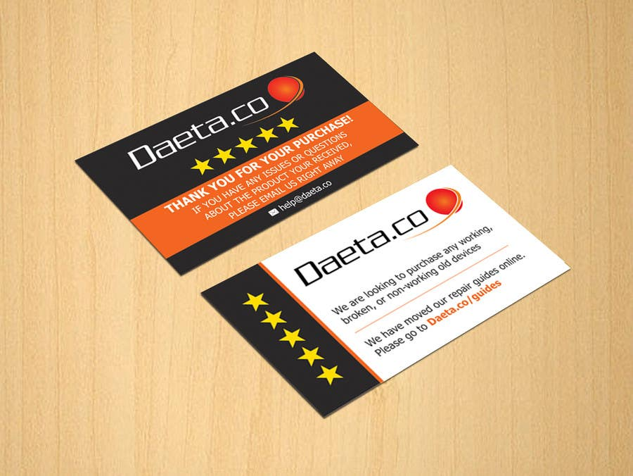 Entry #11 by dinesh0805 for Design Business Cards for 5-Star ...